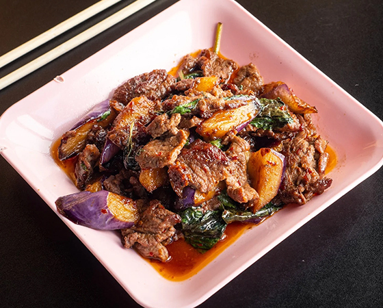 Spicy Eggplant w/ Beef